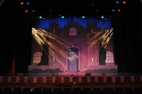 Pirates Of Penzance Set: Major General Stanley's Castle